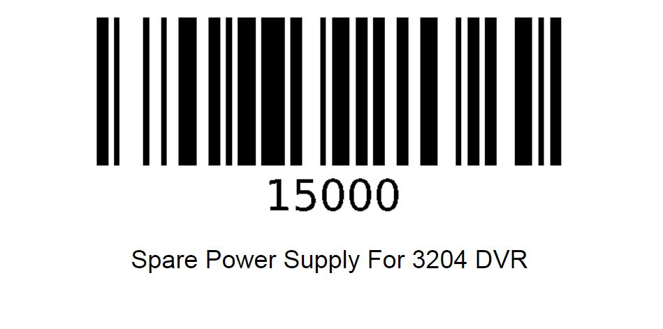 March Networks 15000 | 3204 DVR SPARE EXTERNAL POWER
