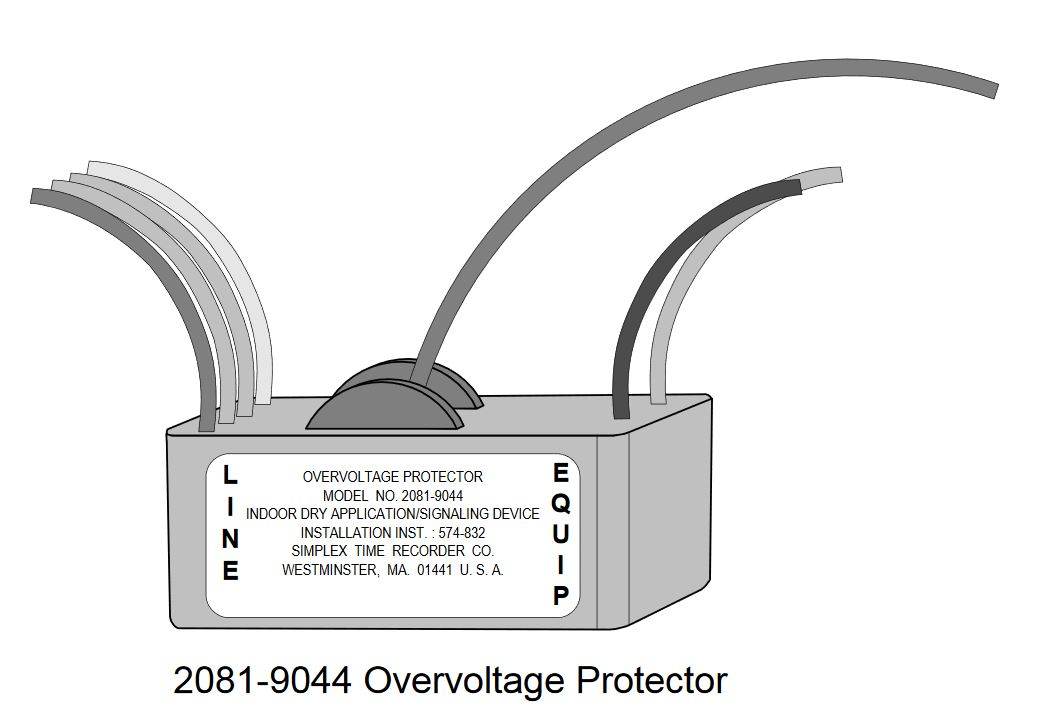 Tyco 2081-9044 | OVERVOLTAGE PROTECTOR 200MA