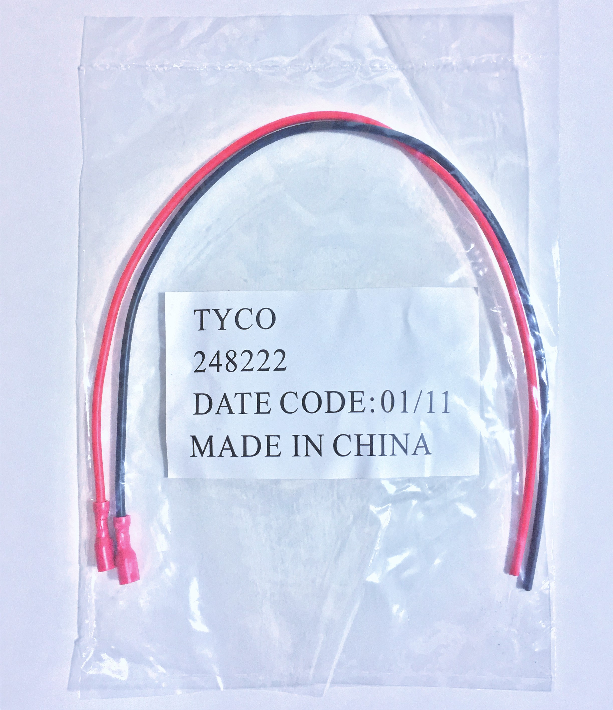 Tyco 248222 | Battery Leads