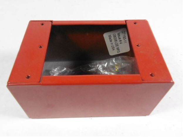 Edwards Signaling 27193-11 | SURFACE MNT BOX- INDOOR, RED