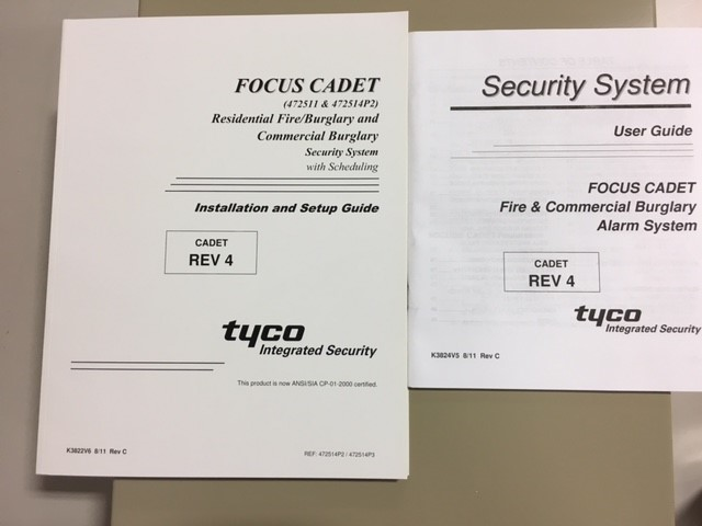 Tyco 472511P3 | Focus Cadet Residential Fire/Burglary and Commercial
