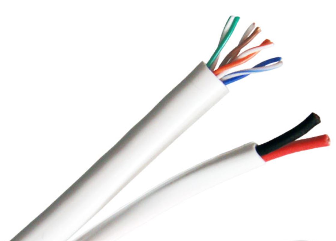 Provo 9162L5E-350-21W | CABLE CAT5E SIAMESE 16/2