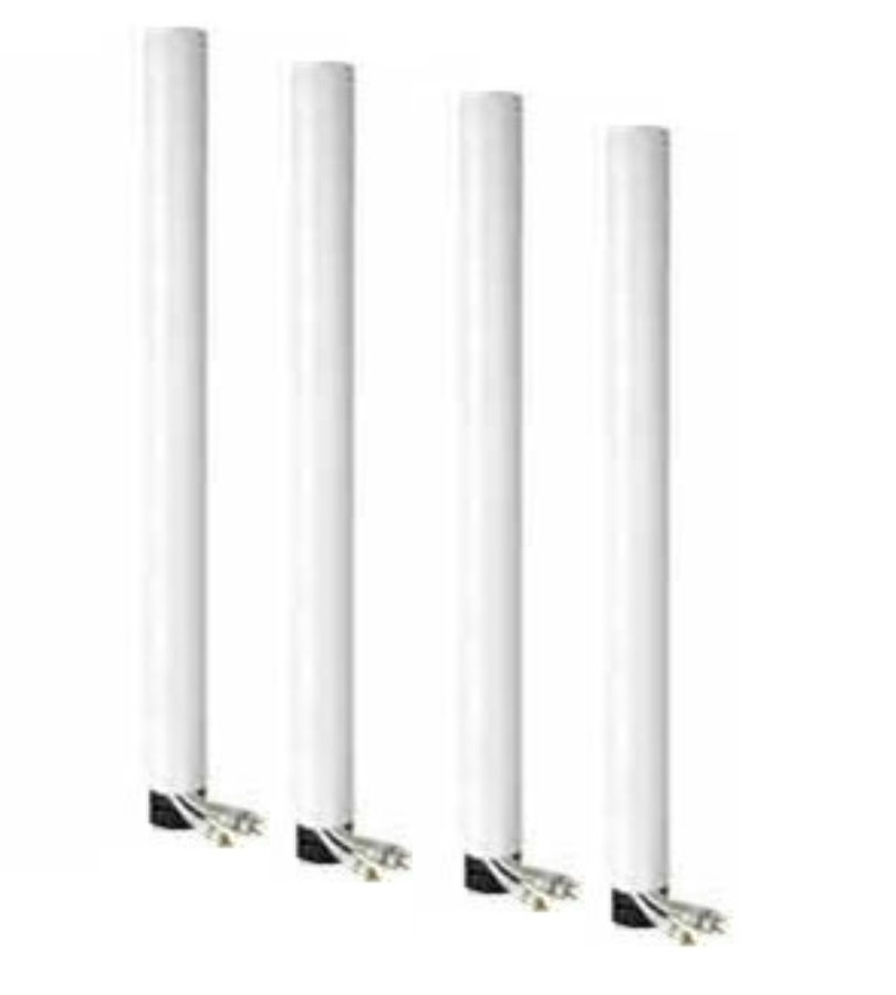 Peerless Industries ACC856W | Coiled Cord Wrap, Four 6 ft Sections - White