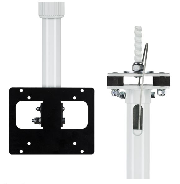 Clinton Electronics CE-CM-SX-6 | TELESCOPIC LCD CEILING MOUNT