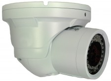 Matrix CTRT7550W | CTRT7550W Turret camera, 700TVL, 5-50mm 42-IR LED 12/24V IP66 white