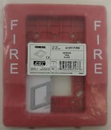 Edwards Signaling G1RT-FIRE | GENESIS,1G,4INTRIM RED F