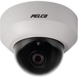 Pelco IS21-CHV10S | Camclosure-2 Indoor, Mini-Dome Camera w/Clear Bubble, Surface Mount, NTSC