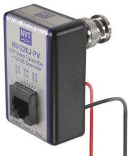 Network Video Technologies NV-226J-PV | Video Transmitter and 12VDC Converter