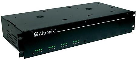 Altronix R2416ULCB | 19 inch Rack Mount CCTV Power Supply